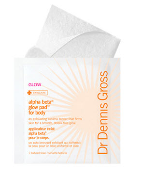 Dr. Dennis Gross Skincare  Alpha Beta Glow Pad for Body with Active Vitamin D 8 applications