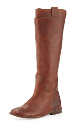Paige Tall Riding Boot, Cognac by Frye