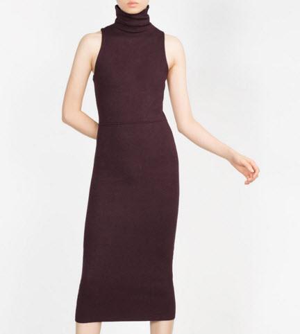 Long Tube Dress by Zara
