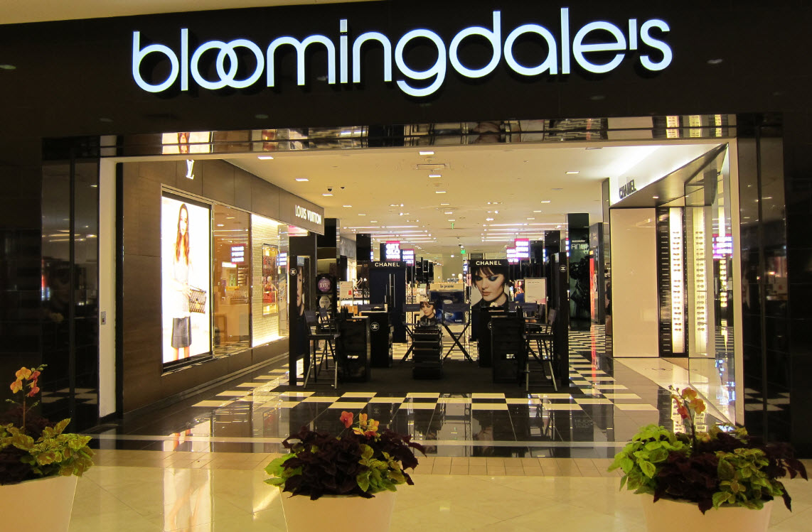 Bloomingdale's South Coast Plaza in Costa Mesa CA