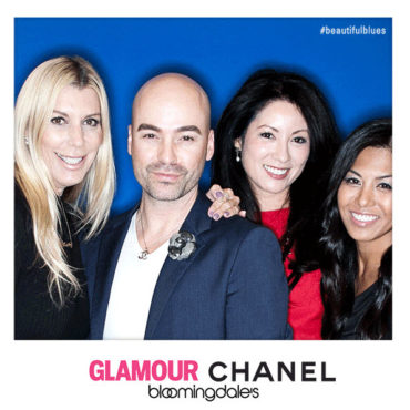 CHANEL turns up the drama with Glamour Magazine in BLUE RHYTHM DE CHANEL