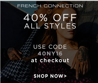 40% off French Connection