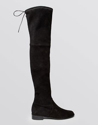Stuart Weitzman Flat Over The Knee Boots - Lowland Stretch
