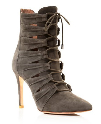 Joie Jelka Lace Up Dress Booties