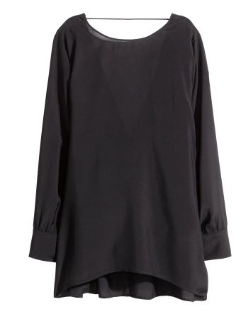 Flared Blouse by H&M