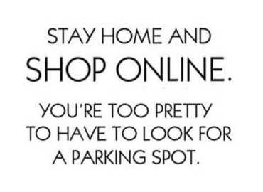 Stay Home and Shop Online