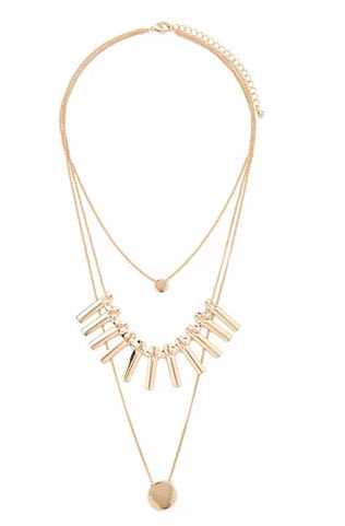 Matchstick Layer Necklace by Forever 21