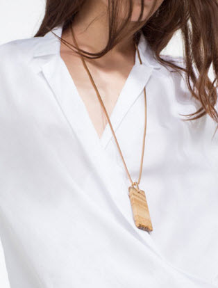 Long Necklace by Zara