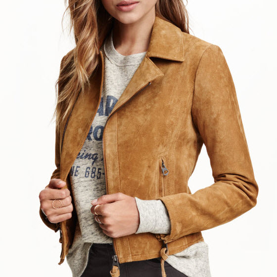 Suede Jacket by H&M