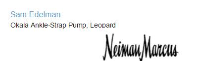 Sam Edelman Okala Ankle-Strap Pump, Leopard