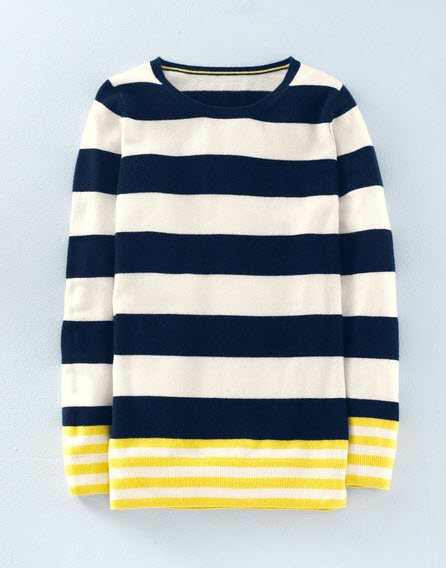 Boden CASHMERE RELAXED CREW NECK