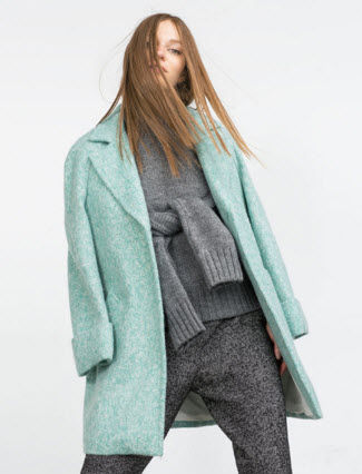 Wool Coat by Zara