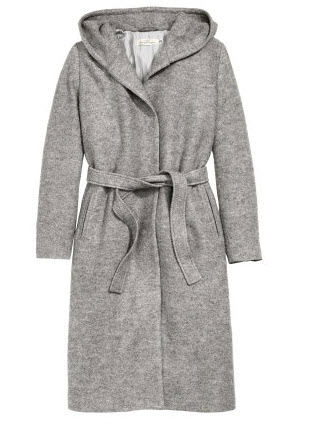 Hooded Wool-blend Coat by H&M