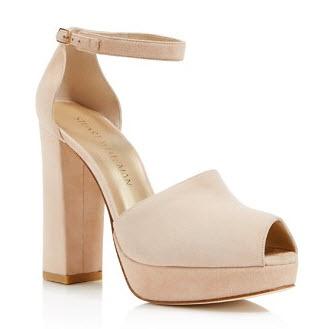 Stuart Weitzman Valleygirl Platform High Heel Sandals