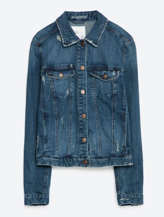 Basic Denim Jacket by Zara