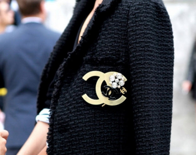 Get the CHANEL look with LUXE Looking Fabrics and Accessories