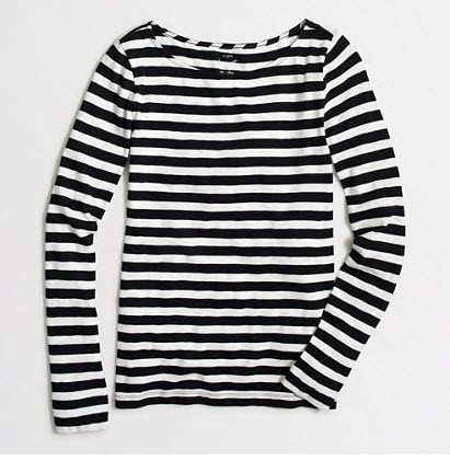 J. Crew FACTORY STRIPED ARTIST T-SHIRT