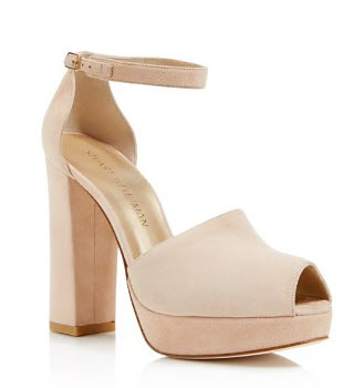 Stuart Weitzman Valleygirl Platform High Heel Sandals