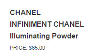 CHANEL INFINIMENT CHANEL Illuminating Powder