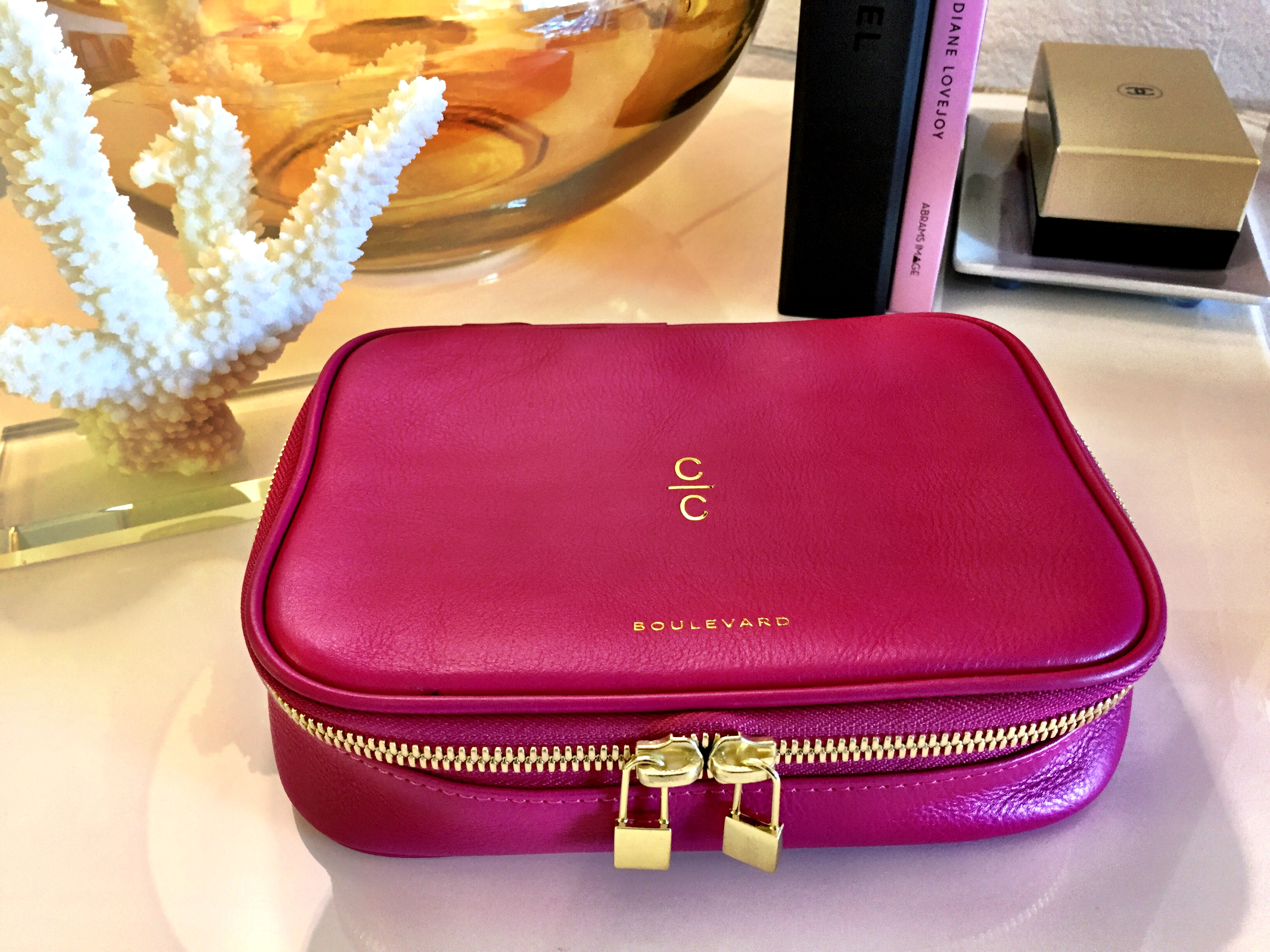 Isabella Jewelry Case by Boulevard