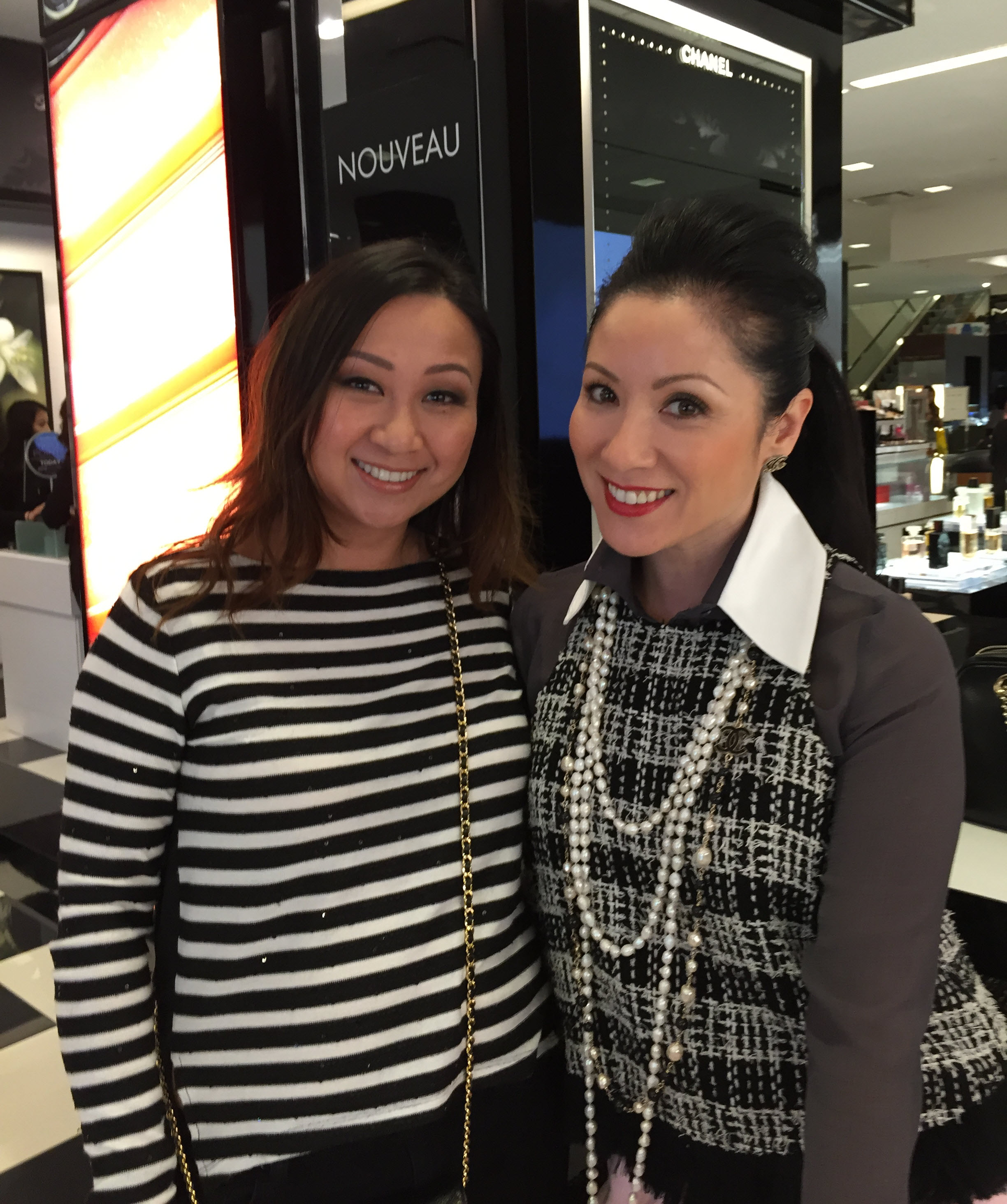 Susan Pham of Irvince Ca with Christina Clay of Style Cliques