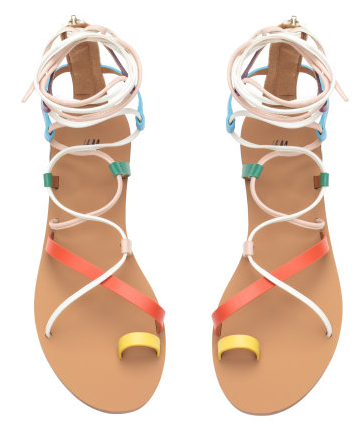 Multi Colored Sandals by H&M.com