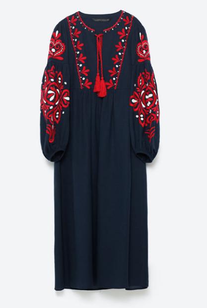 Long Dress by Zara