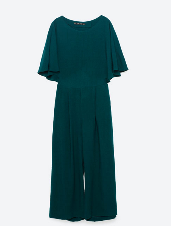 CROPPED LAYERED JUMPSUIT by Zara