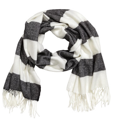 Striped Scarf by H&M