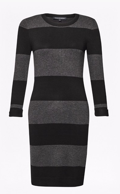 French Connection RUGBY STRIPE BAMBI DRESS