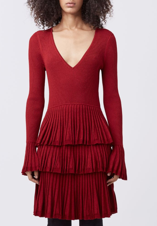 DVF SHARLYNN FITTED DRESS