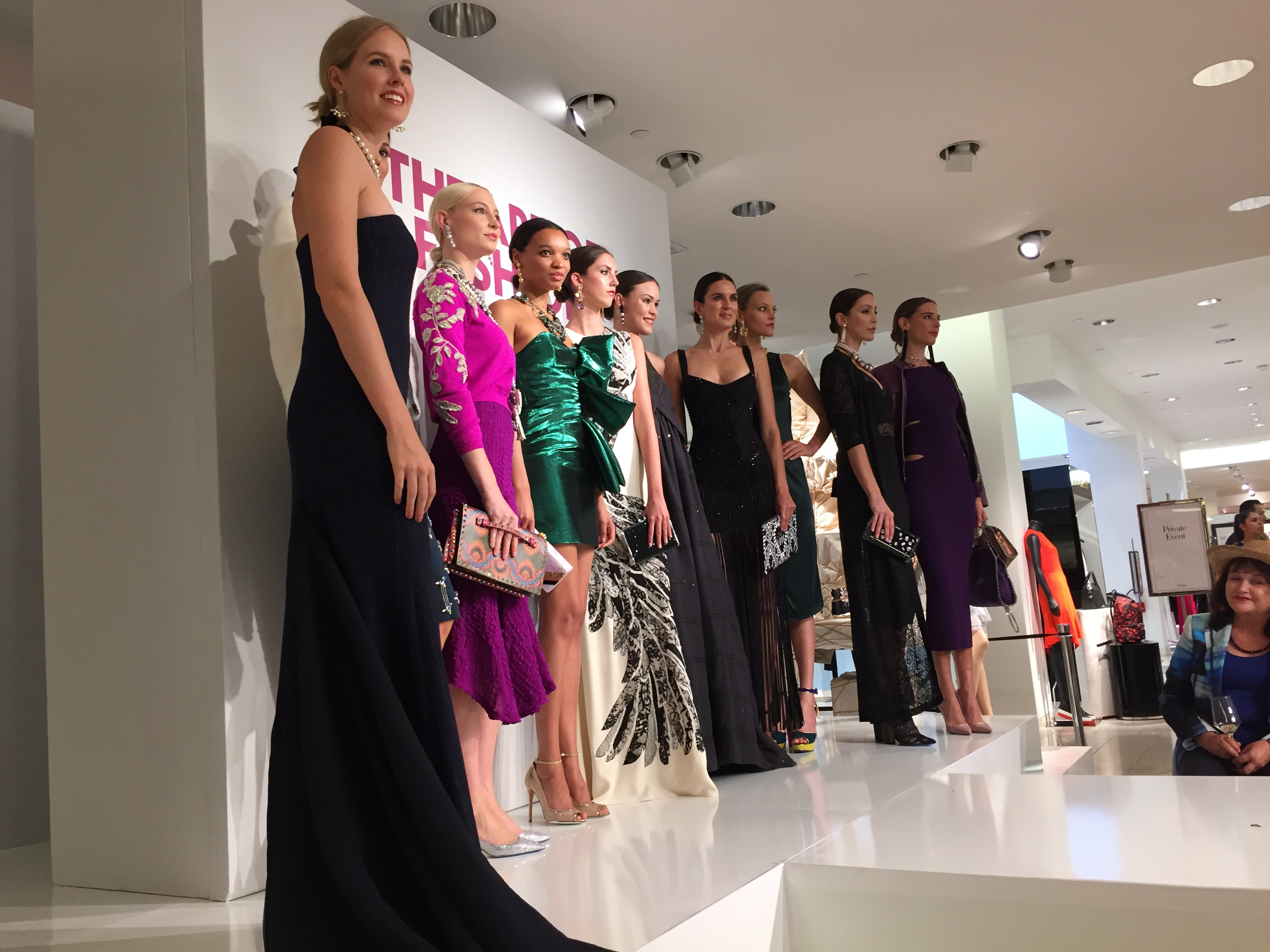 The Art of Fashion Runway Show Neiman Marcus, Newport Beach CA