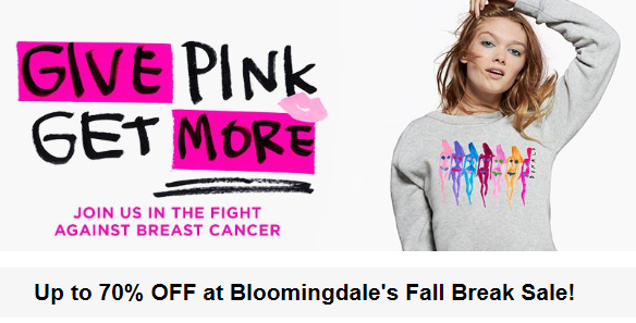 Bloomingdales 70% off sale