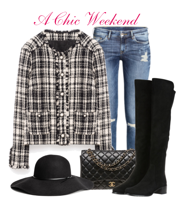 A Chic CHANEL Inspired Weekend