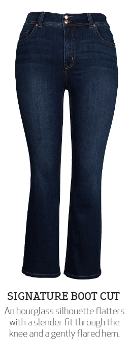 Melissa McCarthy Signature Boot Cut Denim