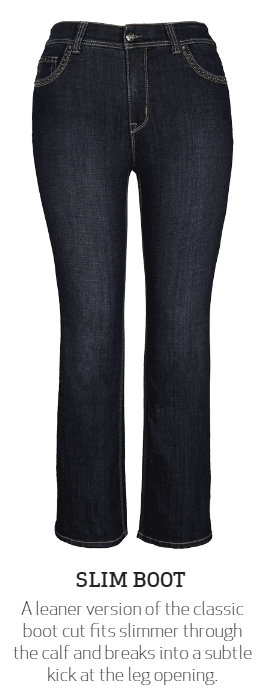 Melissa McCarthy Slim Boot Denim