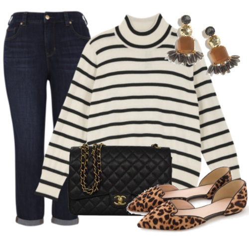 Leopard and Stripes with Seven7 by Melissa McCarthy