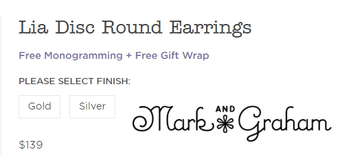 Lia Disc Round Earrings