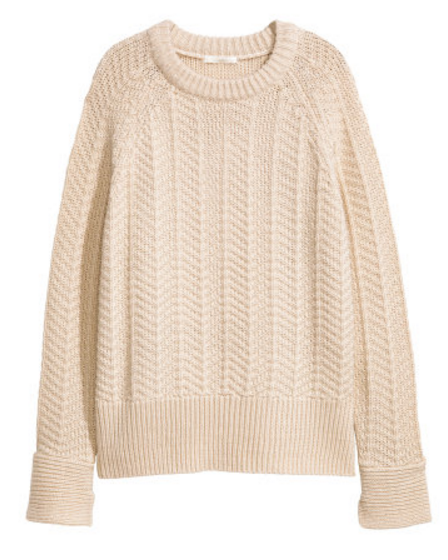 Knit Sweater $19.99 by H&M