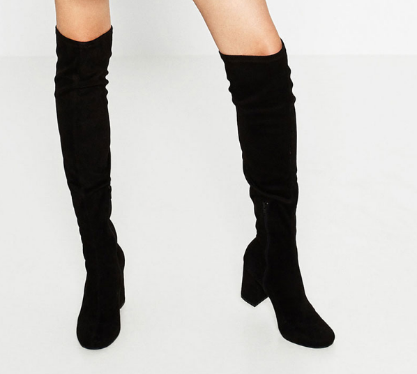 Zara STRETCH LEG HIGH HEEL BOOTS DETAILS 89.90 USD