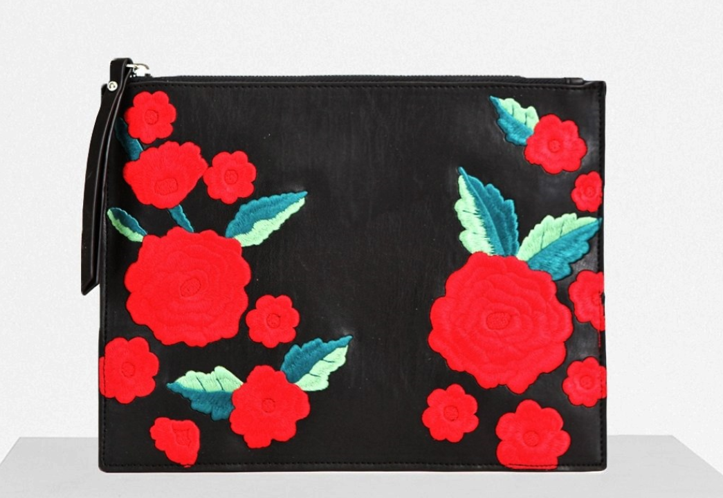 FRENCH CONNECTION EDITH POUCH CLUTCH $58.00