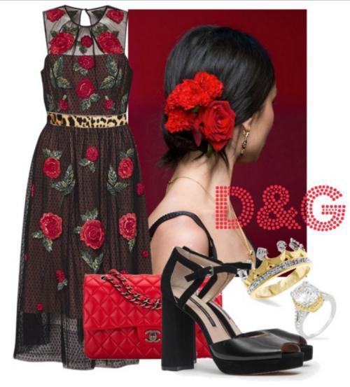 Inspired by Dolce & Gabbana