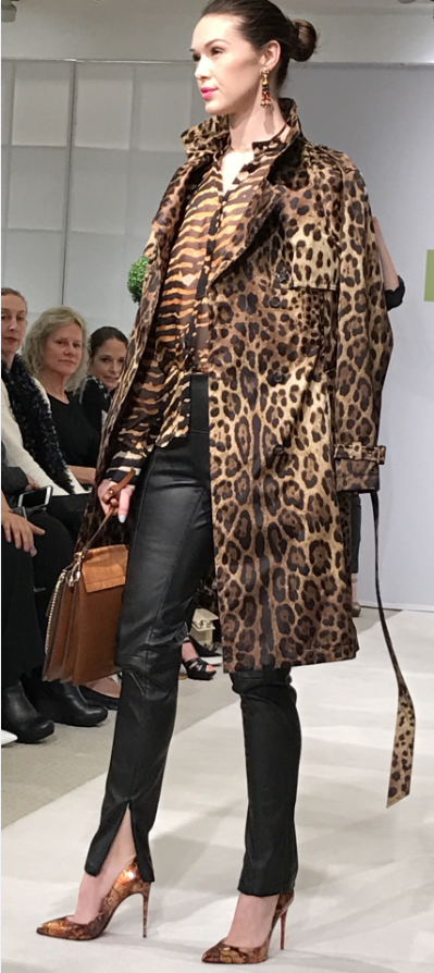 Dolce & Gabbana Leopard print Trench