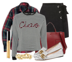 Ciao! In Stripes and Plaid