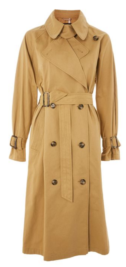 Batwing Trench Coat by TOPSHOP